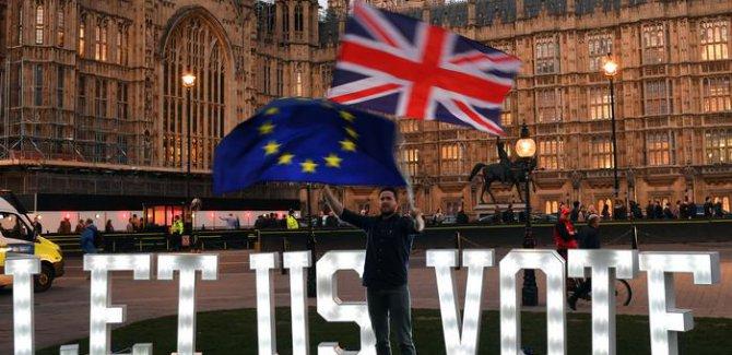 Brexit anlaşması üçüncü kez parlamentoda