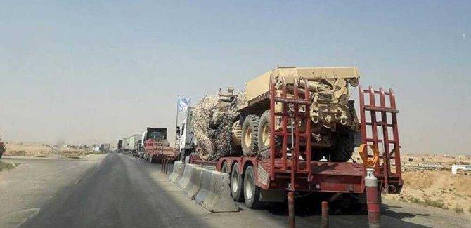 ABD, Irak'tan Suriye'ye yeni Sevkiyat Yaptı