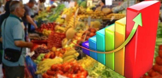 Enflasyon martta yüzde 19.71'e yükseldi