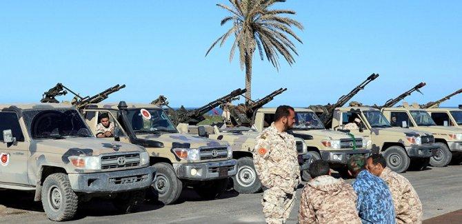 Libya'nın başkenti Trablus yakınlarında şiddetli çatışma