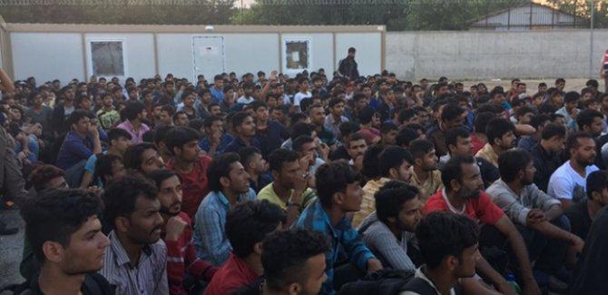 Van'da göçmen operasyonu: 130 göçmen yakalandı