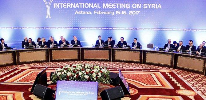 Astana Sürecinin Garantörleri Olarak Suriye İçin Çabalıyoruz