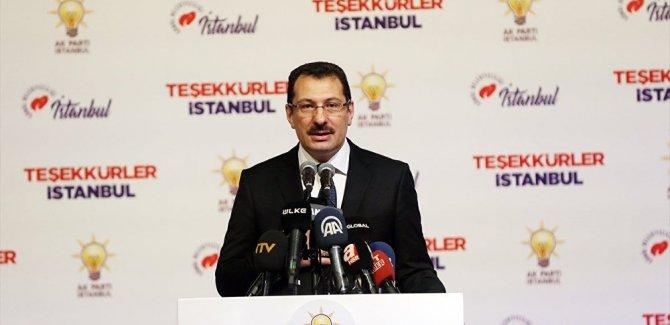 AK Parti: İstanbul'da seçimin yenilenmesini isteyeceğiz