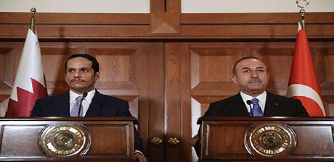 Çavuşoğlu: Askeri müdahale yerine konferans