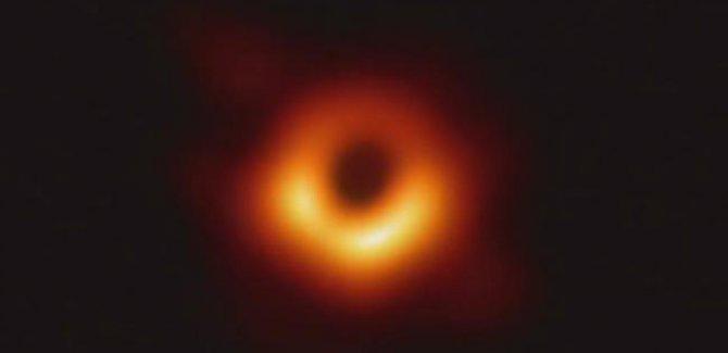 İlk kez görüntülenen kara delik fotoğrafı yayınlandı