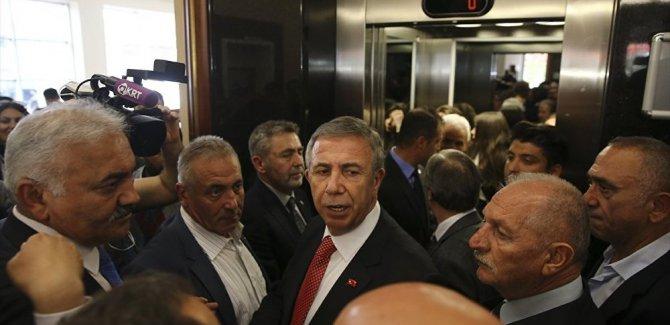 Erdoğan'dan, Yavaş'a  'Hayırlı olsun'
