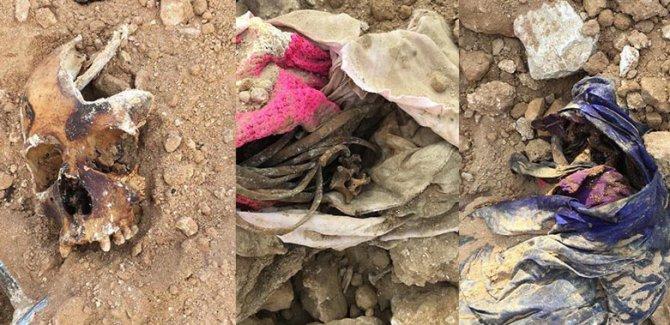 Enfal katliamından kalma toplu mezar bulundu