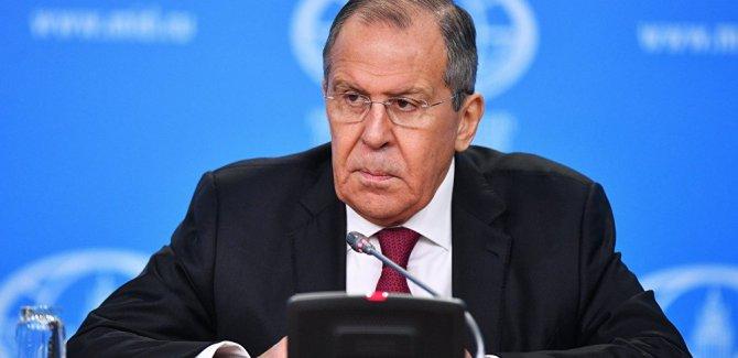 Lavrov: Suriye'de çözüm için temas halindeyiz
