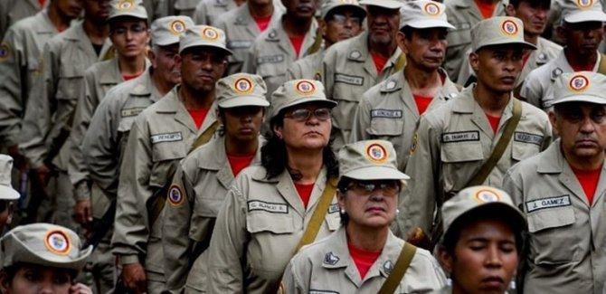 Maduro: Hedef 3 milyon milis