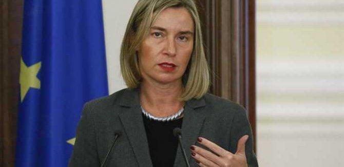Mogherini: İsrail'in Golan'a Hakimiyetini Resmi Olarak Tanımıyoruz