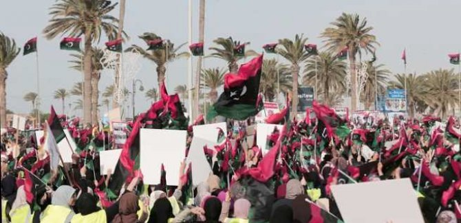 Libya Halkı: Fransa ve Mısır, Ellerinizi Üzerimizden Çekin