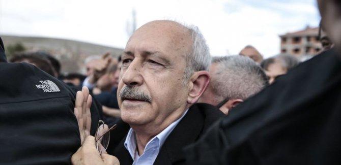 Kılıçdaroğlu kendisine saldıranlardan şikayetçi oldu