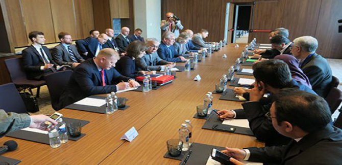 12. Suriye görüşmeleri başladı