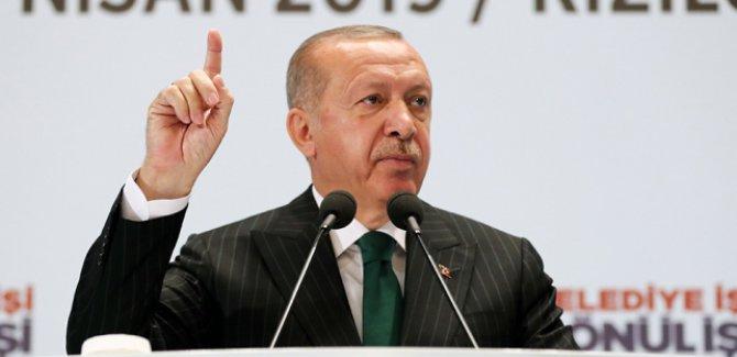 Erdoğan: Golan Suriye'nindir, ABD'den güç alan işgalci İsrail'in değil