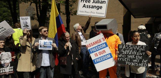 WikiLeaks kurucusu Assange'a 50 hafta hapis cezası verildi