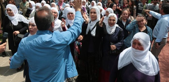 Diyarbakır'da açlık grevi eylemine müdahale
