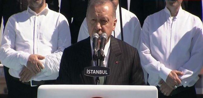 Erdoğan: İstanbul sevdalıları için koltukların hiçbir kıymeti yoktur