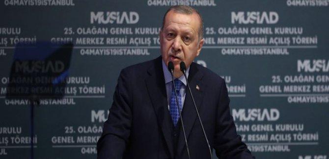 Erdoğan: Bir şaibe var, gidelim millete milli irade karar versin