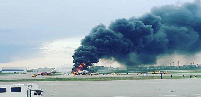 Rusya'da uçak kazası:41 ölü