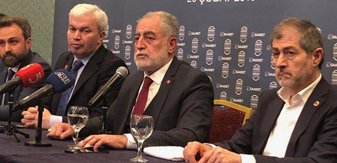 Saddet'ten İstanbul seçimlerine aynı adayla katılma kararı