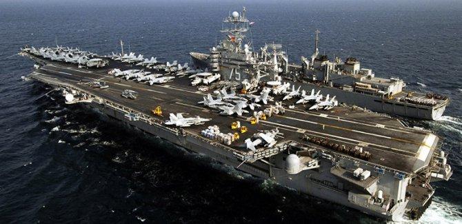 ABD: Hürmüz Boğazı'na uçak gemisi göndereceğiz