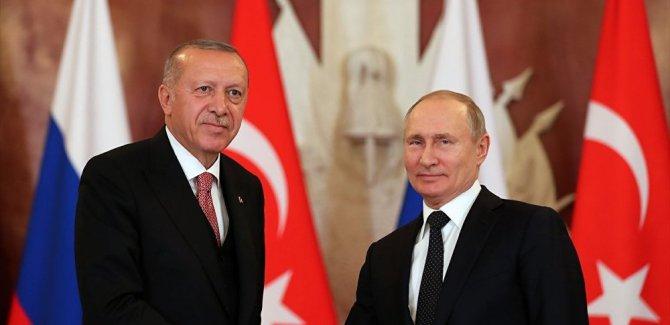 Kremlin: Putin ile Erdoğan, İdlib'i görüştü
