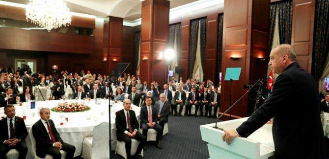 Erdoğan: Bu bizim için bir fırsat oldu