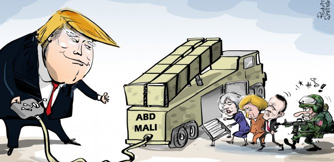 'ABD, Avrupa ülkelerinin silah geliştirmesini yasakladı'