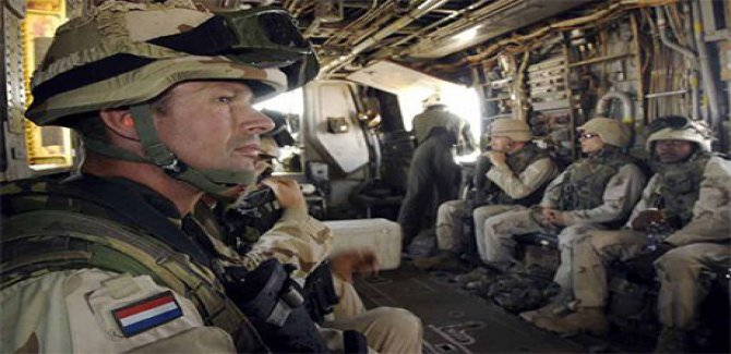 Almanya'dan sonra Hollanda'da, Irak'ta ki faaliyetlerini askıya aldı