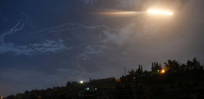 İsrail'in füze saldırısı Suriye tarafından püskürtüldü