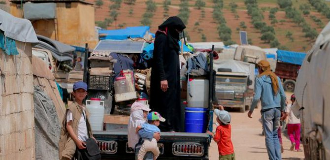 BM: 180 bin kişi İdlib'i terk etti