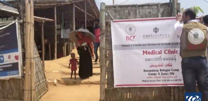 Barzani Yardım Vakfı'ndan Rohingya Müslümanlarına yardım