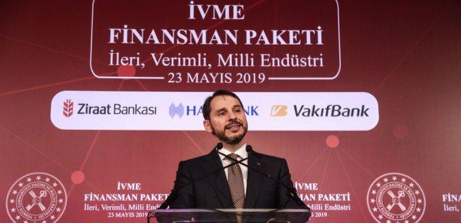 Albayrak, 30 milyar liralık 'İVME' paketini açıkladı