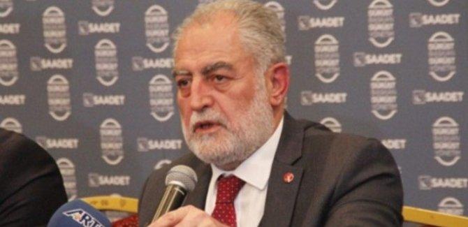 Saadet Partisi'nin İstanbul adayı Gökçınar'dan Yıldırım'a tepki