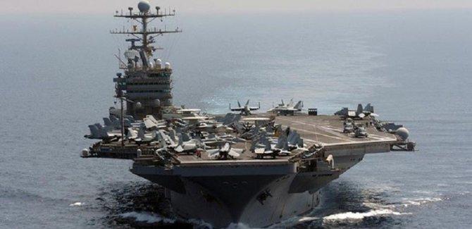 Tahran: Abraham Lincoln Uçak Gemisi uzaklaştı