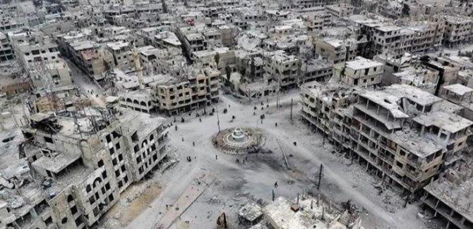 Suriye'de Yeniden İnşa Başlıyor