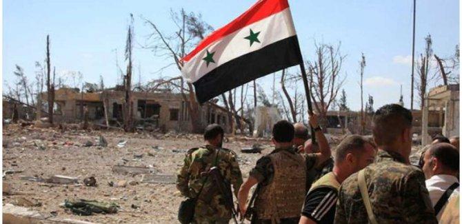 Suriye'den kimyasal saldırı yanıtı