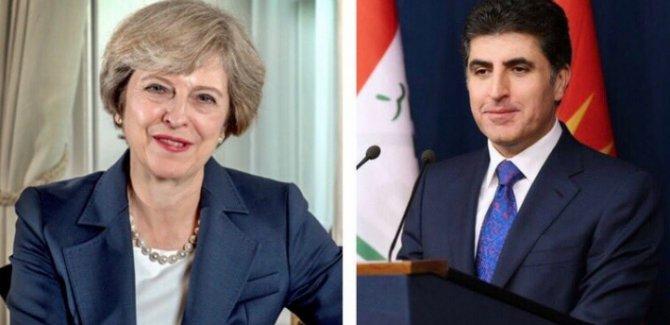 Theresa May: Kürdistan halkıyla ilişkilerimizi güçlendirmeyi bekliyoruz