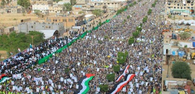 Yemen'de Kudüs mitingi