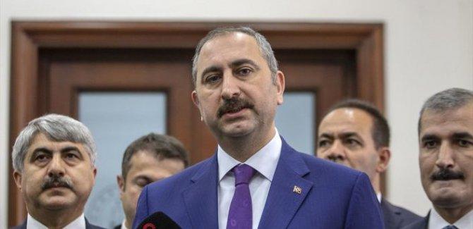Adalet Bakanı Gül:Bu 82 milyonun reform iradesidir
