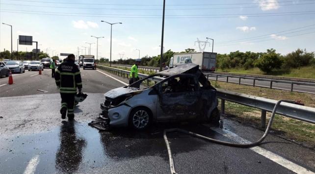 Tekirdağ'da tır ve otomobil çarpıştı: 5 ölü