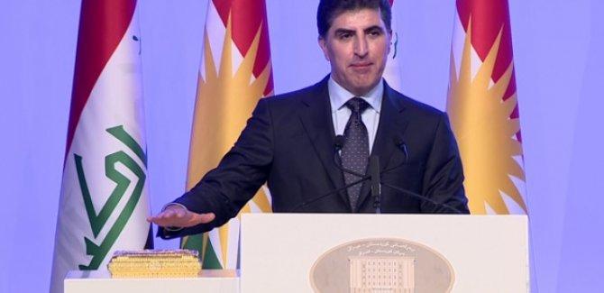 Kürdistan Bölgesi Başkanı Neçirvan Barzani başkanlık yemini etti