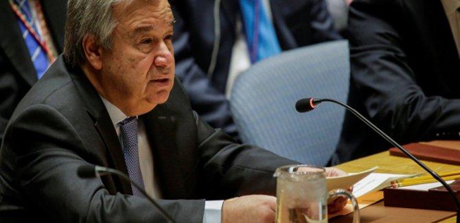 Guterres'ten ABD-İran Gerilimine İlişkin Açıklama