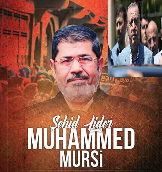 ''Mursi kardeşime şehidimize Allah'tan rahmet diliyorum''