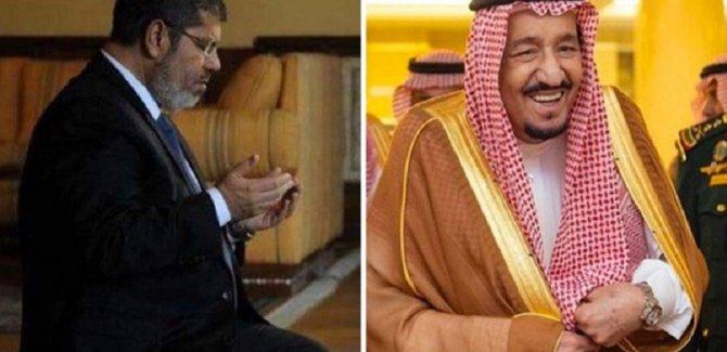 Mursi'nin şehadetinin ardından, Suud rejiminden çirkin paylaşım