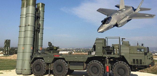 NATO: S-400 ile F35'leri yan yana konuşlandırmayacağız