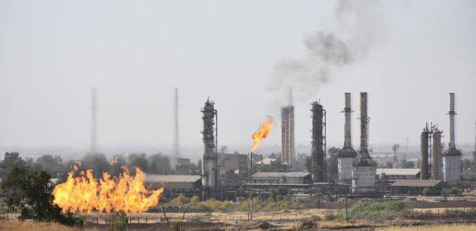 Irak'ta  petrol şirketlerinin olduğu bölgeye füze saldırısı