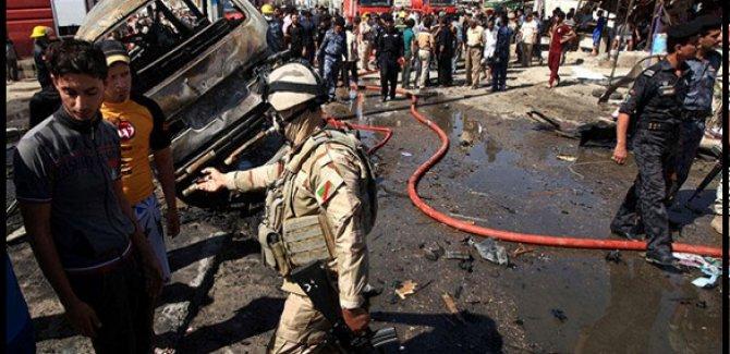 Irak'ta Ard arda patlamalar