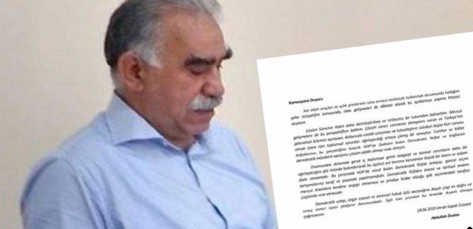 Cumhurbaşkanlığı'ndan Öcalan mektubuyla ilgili açıklama