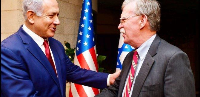 Bolton Yeni Felaketler İçin İsrail'de